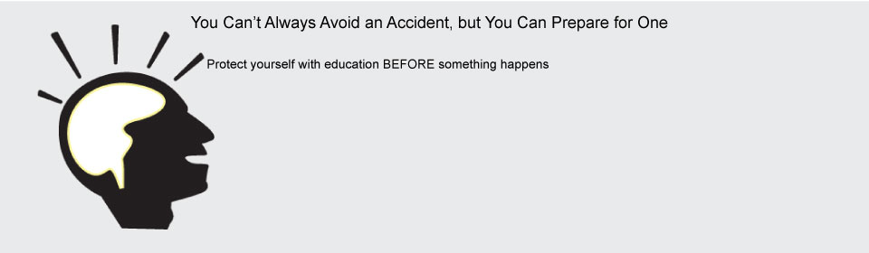 You Can't Always Predict an Accident, but You Can Prepare for One