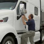 Truck Drivers Avoiding International Roadcheck