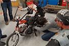 Biker Costume for Children with Cerebral Palsy