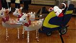 Santa Costume for Kids with Cerebral Palsy